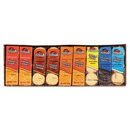 Cookies and Crackers, Assorted, 1.38 oz per Pack, 45 Packs/B