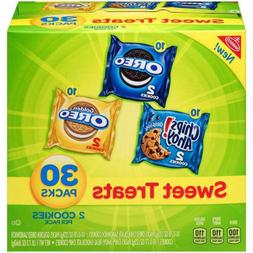 Nabisco Cookies Sweet Treats Variety Pack - with Oreo, Chips