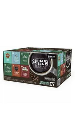 Crafted Classics Coffee K-Cup Pod Variety Pack, 72-count