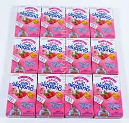 Diet Snapple Raspberry Tea Low Calorie Singles to Go 4 Boxes