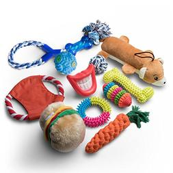 Livin' Well Dog Chew Toys - 11 Pc Value Pack Dog Toys Aggres