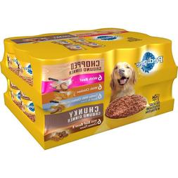 Pedigree Dog Food 24 can Ground Dinner Canned Soft Wet Varie