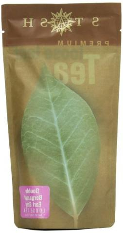 Stash Tea Double Bergamot Earl Grey Loose Leaf Tea 3.5 Ounce