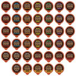 40-count EKOCUPS Organic & Fair Trade Gourmet Coffee Single