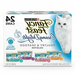 Purina Fancy Feast Creamy Delights Wet Cat Food Variety Pack