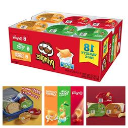 Flavored Variety Pack 18-Count Pringles Snack Stacks Potato