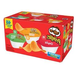 Pringles Flavored Variety Pack Potato Crisps 48 Count