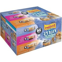 Friskies Wet Cat Food Variety Packs of 24
