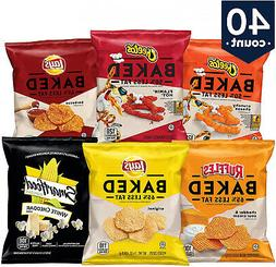 Frito-Lay Baked and Popped Mix Variety Pack, 40 Count wm
