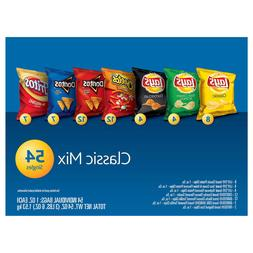 Frito Lay Classic Mix Variety Pack 1oz, 54count of Lays Chee