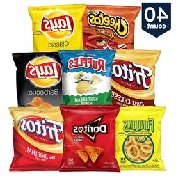 Frito-Lay Variety Pack 40 count - Choose Your MIX - FREE SHI