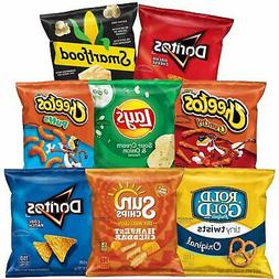 Fun Times Mix Variety Pack, 40 Count Frito Lay Chips Snacks