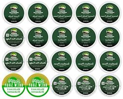 20-count GREEN MOUNTAIN FLAVORED COFFEE K-Cup Variety Sample