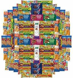 Healthy Bars, Nuts & Crackers Snack Pack Assortment by Var..