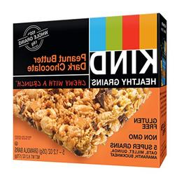 KIND Healthy Grains Granola Bars, Peanut Butter Dark Chocola