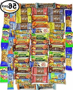 Healthy Snacks and Bars Variety Pack Gift Snack Box - Bulk S