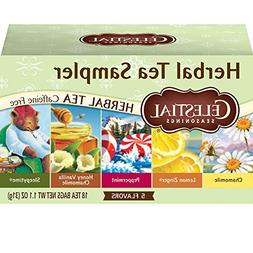 Celestial Seasonings Herbal Tea, Herbal Tea Sampler, 18 Coun