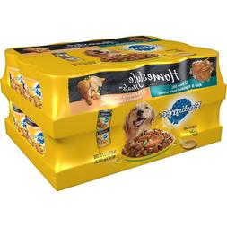 Pedigree Homestyle Choice Cuts Wet Dog Food, Variety Pack