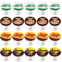 TOOTSIE ROLL HOT COCOA K CUPS FOR KEURIG 2.0  VARIETY PACKS