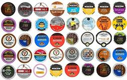 40 Count K Cup Variety Pack - Light & Medium Roasts Only - N