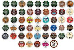 50 Count K Cup Variety Pack - ALL the Top GREEN MOUNTAIN Fav