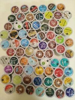 K Cups Variety Pack Sampler 96 k cups **read description**