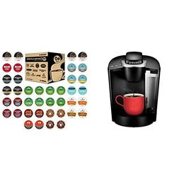 Keurig K55/K-Classic Single Serve Coffee Maker + 40ct Variet