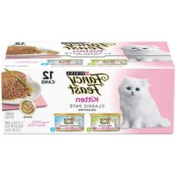 Purina Fancy Feast Kitten Classic Pate Collection Cat Food -