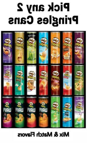 Pringles 2 Pack Choose any 2 Cans 5 oz Each