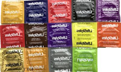 100 Lifestyles Condoms Variety  Pack