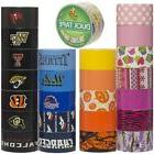25 Random Rolls Colored Duct Tape Variety Pack Craft Wallet