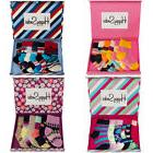 6 Pairs Baby Ankle Socks With Gift Box By Happy Socks Soft C