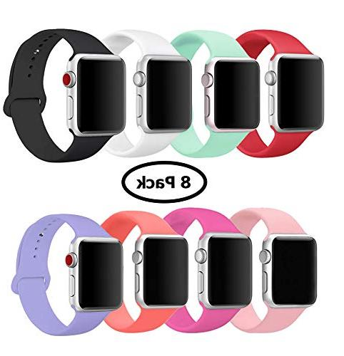 8 pack band for apple watch 38mm