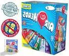 Airheads Bars Chewy Fruit Candy Variety 60-Pack Non Melting