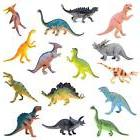 """Boley Monster 15-Pack Large 7"""" Toy Dinosaurs Set - Enormous"""