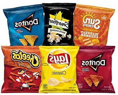 Frito-Lay Classic Mix Variety Pack 35 Count Sun Chips Lay`s