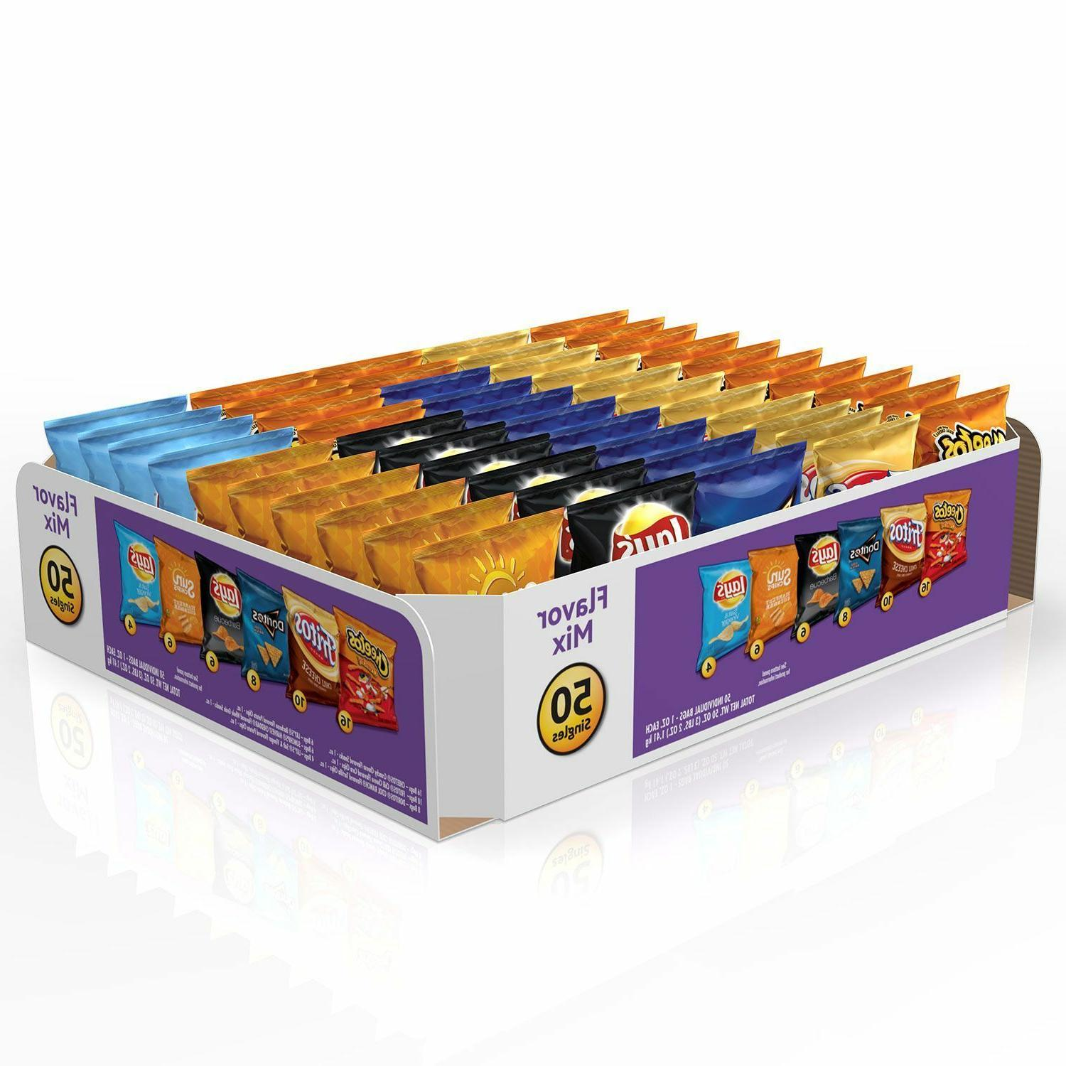 Frito-Lay Flavor Mix Chips and Snacks Variety Pack 1 oz.