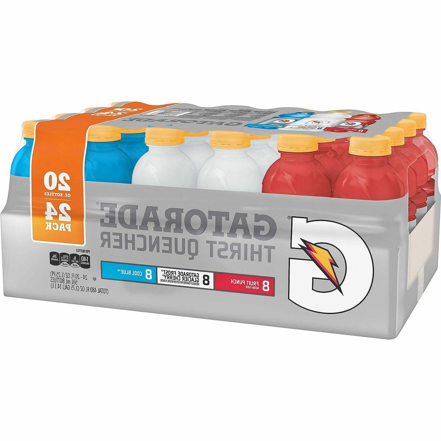 Gatorade Sports Recovery Energy Drink Red White Blue Liberty