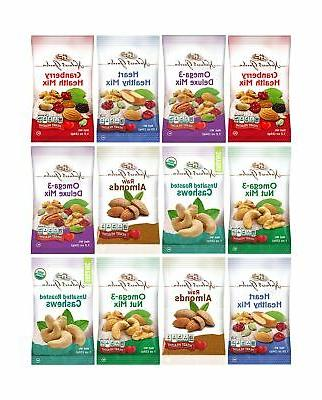 Healthy Premium Assorted Nuts and Fruits Snack Mix Sampler V