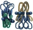 HeavyWeight Flat Bungee Cords 6 VARIETY PACK with BONUS 6 Ba