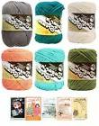 Lily Sugar n' Cream Variety Assortment 6 Pack Yarn Bundle wi
