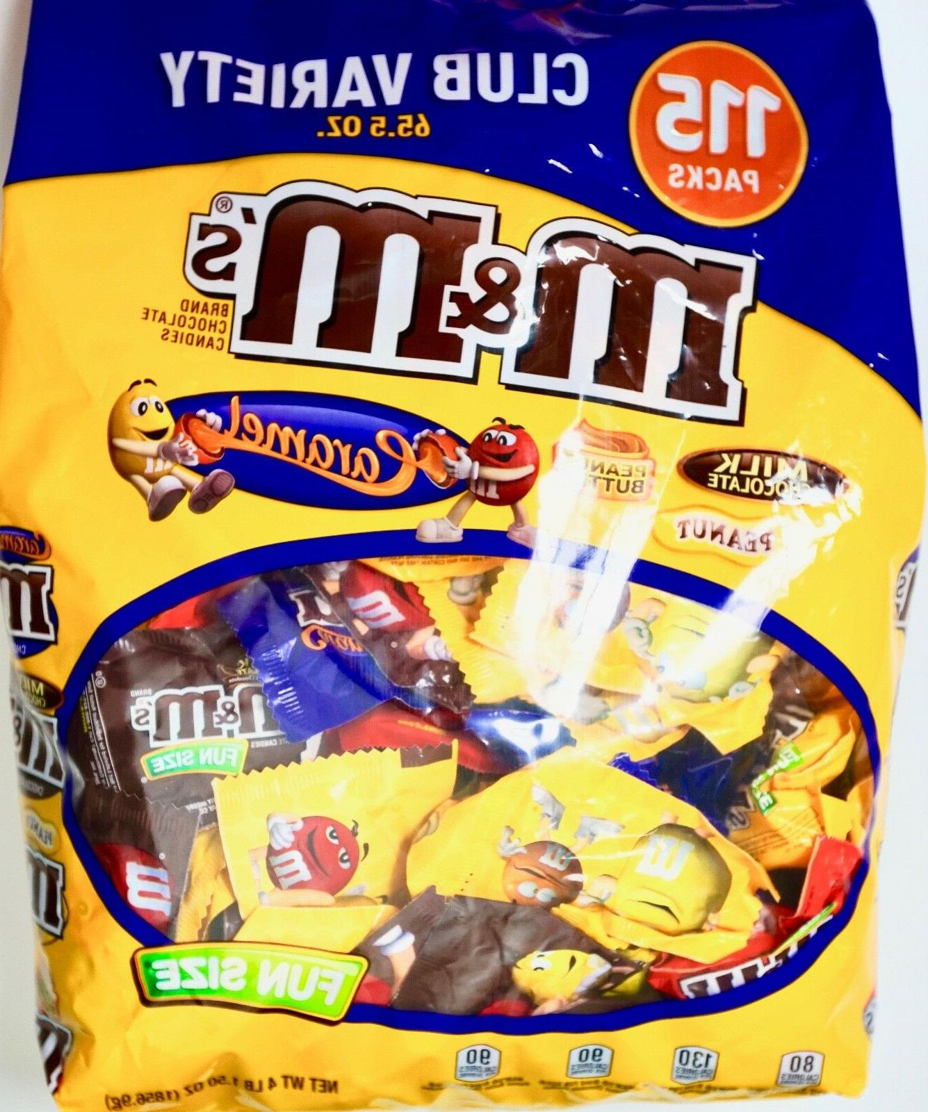 M&M's Club Variety Pack Fun-Size Milk Chocolate Peanut Butte