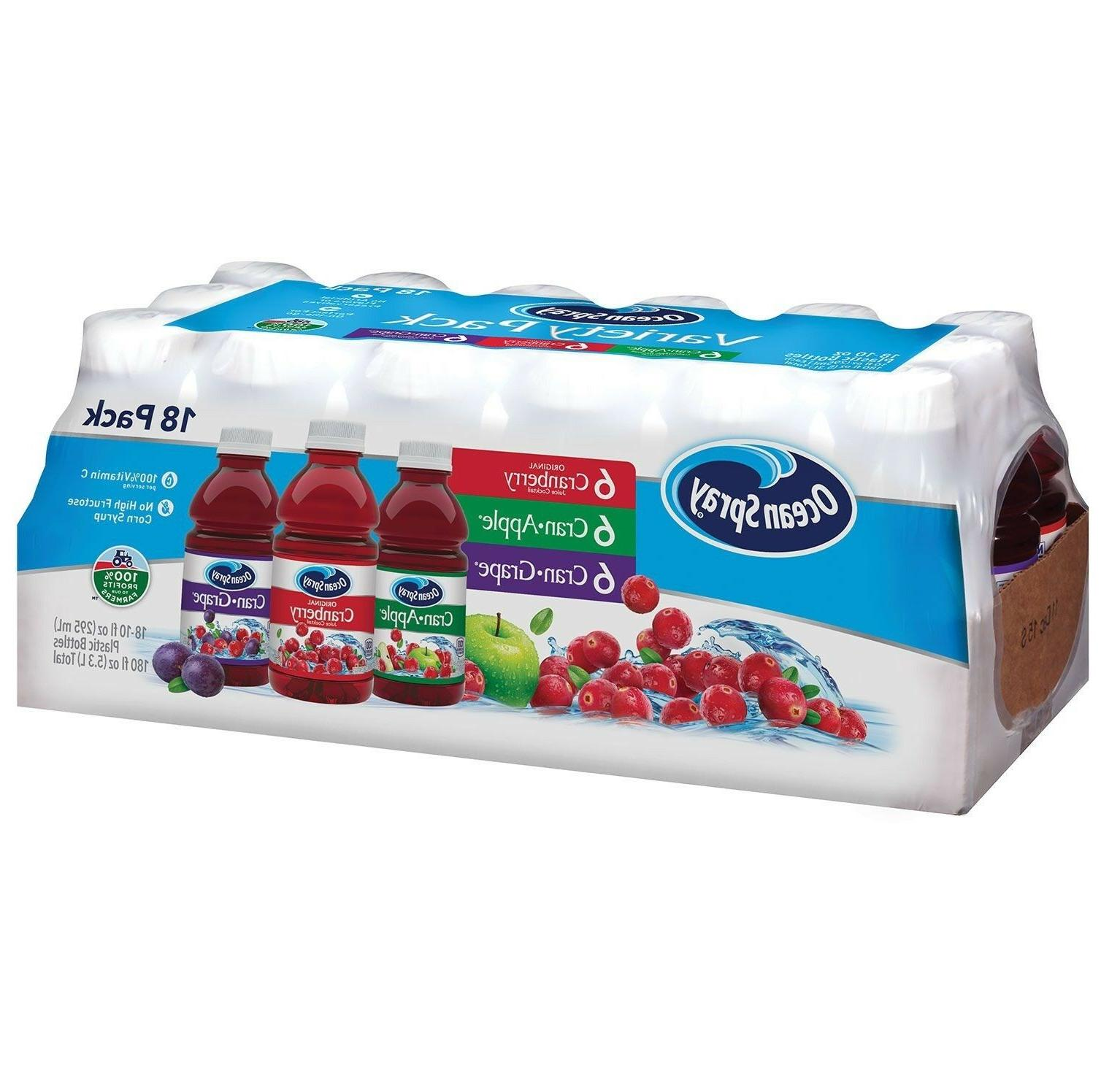 Ocean Spray Juice Drink Variety Pack  Brand new!