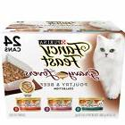Purina Friskies Cat Wet Food Canned Pate Meat Variety Cans 2
