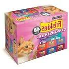 Purina Friskies Gravy Pleasers, Variety Pack  ADULT/KITTEN F