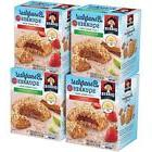 Quaker Breakfast Squares, Variety Pack, Apple Cinnamon & Str