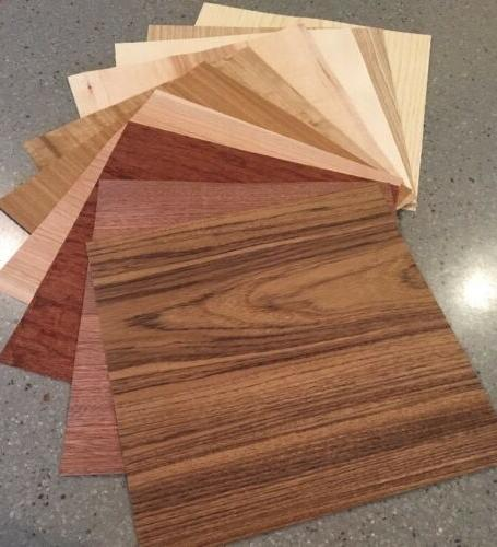 Wood Veneer Variety Pack: 10 WIDE Sheets  Exotic And Domesti