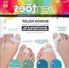 ZenToes Bunion Protector and Toe Separator Variety Pack 4 Pa