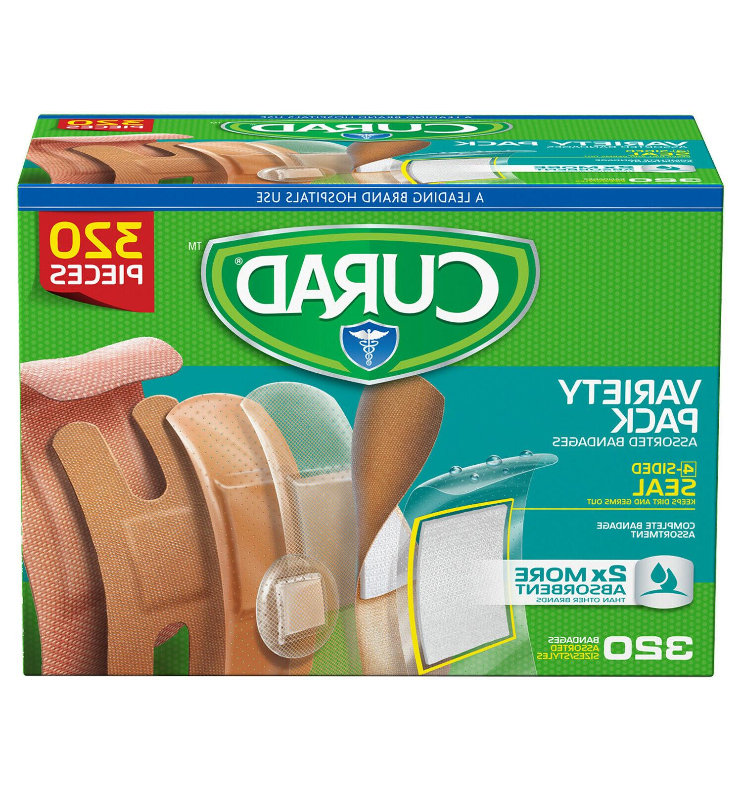 assorted bandages variety