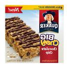 Quaker Big Chewy Chocolate Chip Granola Bars - 5 Ct - Pack o